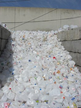 HDPE Natural Bottle Scrap USA