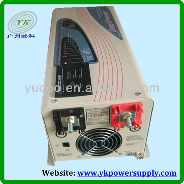 1000wto 6000w power inverter with charger