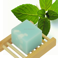 100g Cold Prosess Soap Type Mint Essential Oil Anti-inflammation Natural Organic Handmade Soap