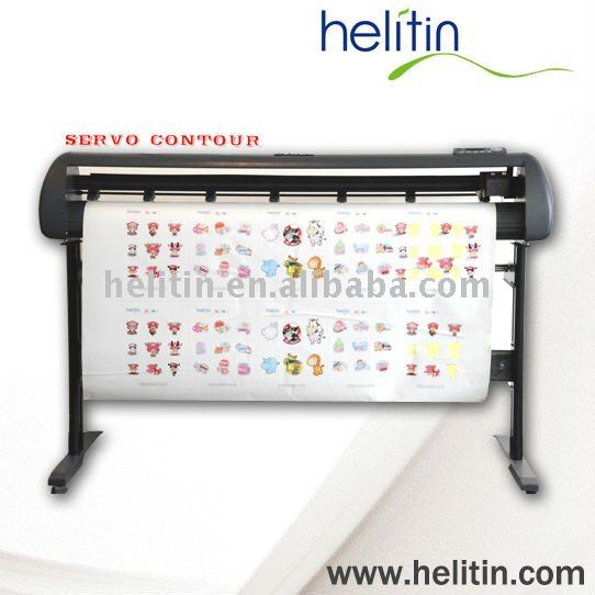 Helitin 1350BC servo contour vinyl sticker cutting plotter