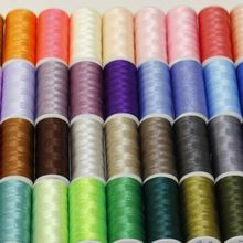 dyed yarn sewing thread color card polyester embroidery color shade card cotton shade card