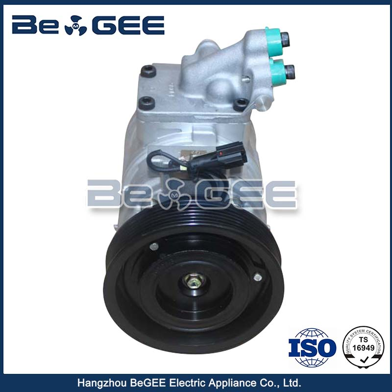 Brand New Small 12V Car Cooled A / C Compressor For Hyundai Santa Fe