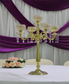 IDA 5 arm table candelabra wedding centerpieces brass