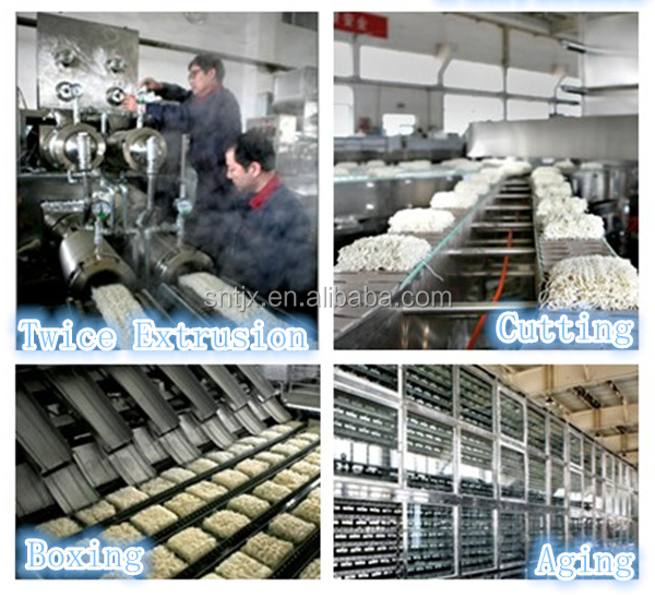 New product industrial automatic instant rice noodle vermicelli production line