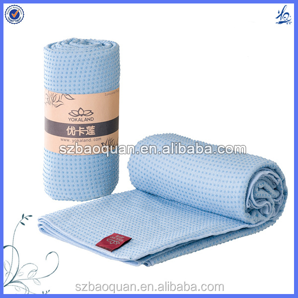 100% polyester super soft cheap yoga blanket wholesale