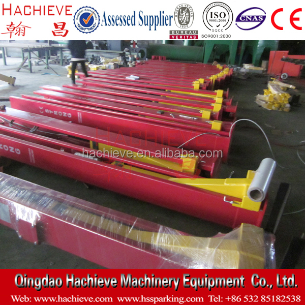 Symmetrical type two post car lift /2 post car hoist (auto car hydraulic lift jack)