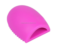 New Cosmetic Makeup Brush Finger Glove Silicone Scrubber Board Hand Cleaning Tools
