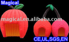 Apple Shape Inflatable Booth Bar for Events