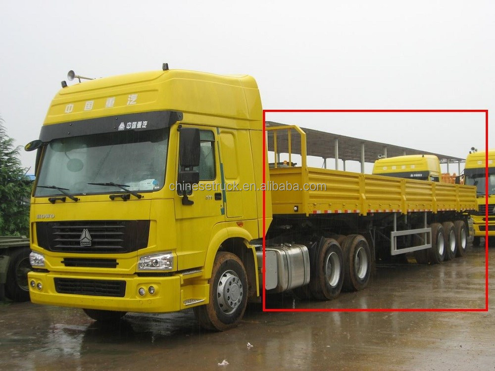 13m cargo semi trailer for loading container or bulk cargo in Kenya