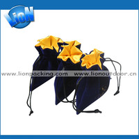 hot sale hair packaging supplies satin lined packaging bags