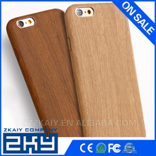 Accept customized Flexible Soft TPU wood grain cases cover