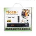 Tiger Star I200 DC dvb s2 free to air Digital Satellite Receiver support 3G,usb wifi and FTA Channels
