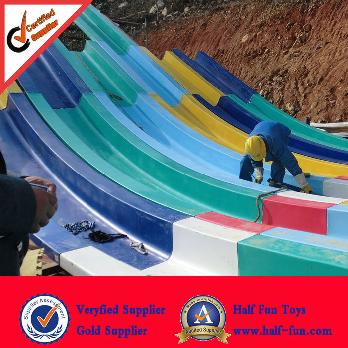 Popular Design Quick Delivery Rainbow water slide