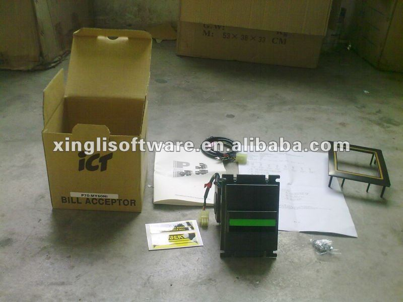 ICT P77 bill acceptor without stacker