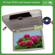 15 inch car dvd roof mount monitor (XY-156)