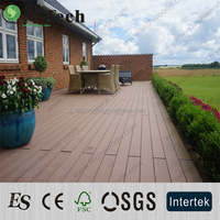 Hot! popular environmental garden outdoor wpc decking