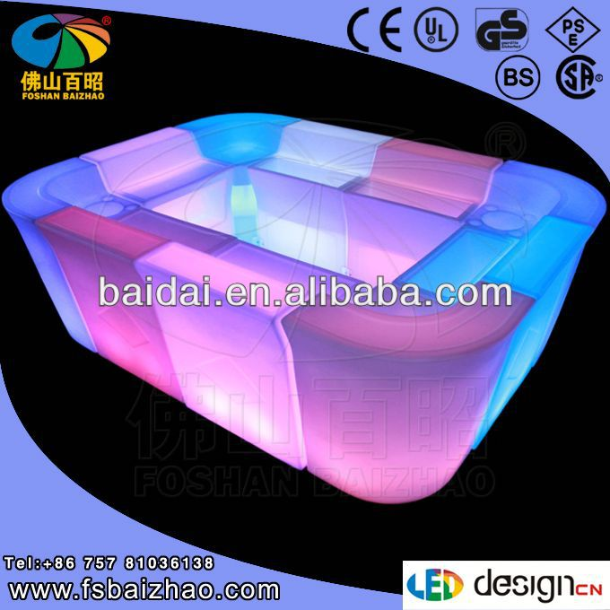 leather led corner sofa