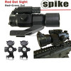 1x32mm Red/green Dot Rifle Scope Sight with Red Laser