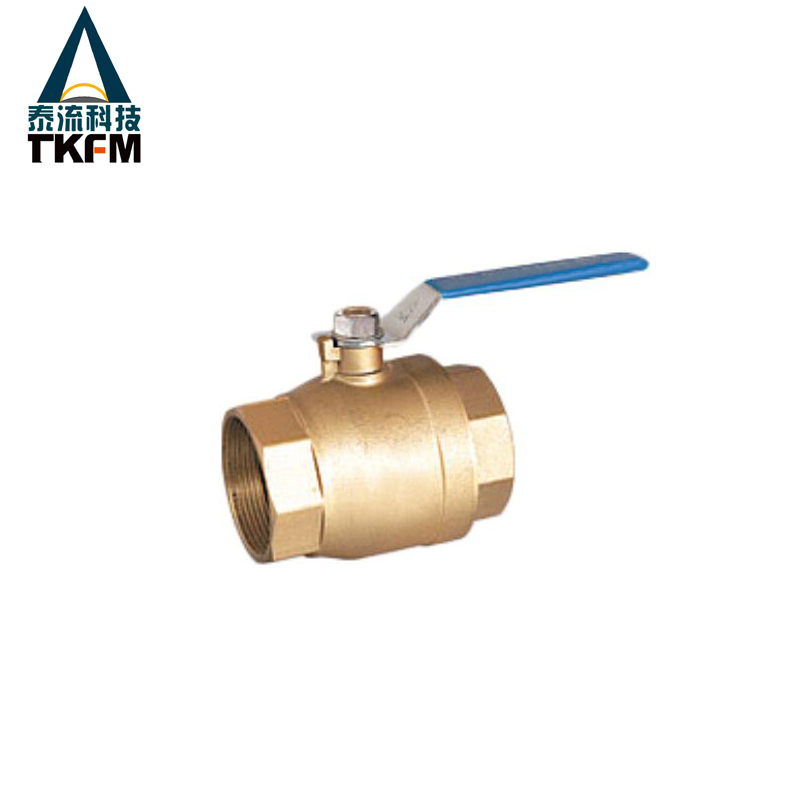TKFM long handle brass ball valve for gas