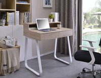 modern office secretary desk table double sided office desk with drawers