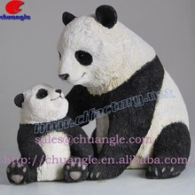 Resin Animal Souvenir, Polyresin Panda Item, Resinic Panda Statue Handicraft