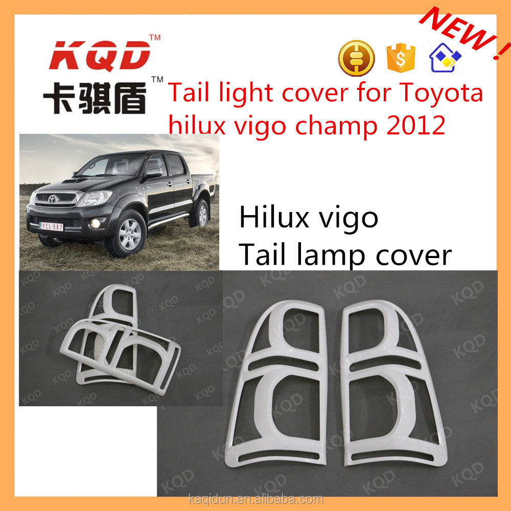 thailand auto parts 2016 new model hilux rear bumper light toyota hilux vigo accessories rear lamp tail light cover