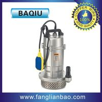 Qdx Small Submersible Pump Single Phase Cleaning River Hand Submersible Water Fountain Pump