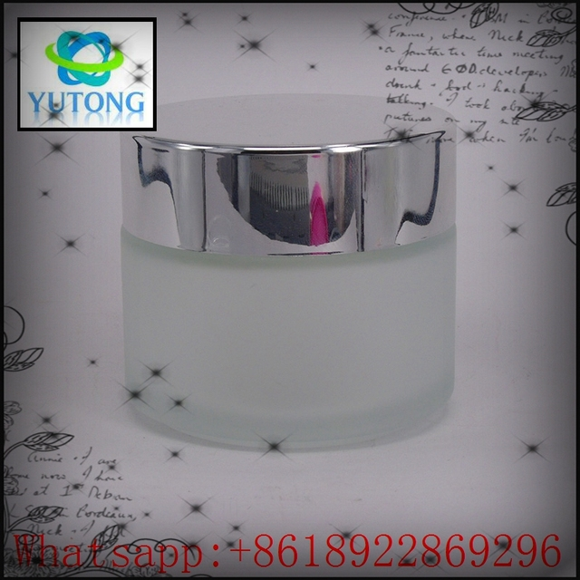 Low price dual channel cream jars for cosmetic containers machining