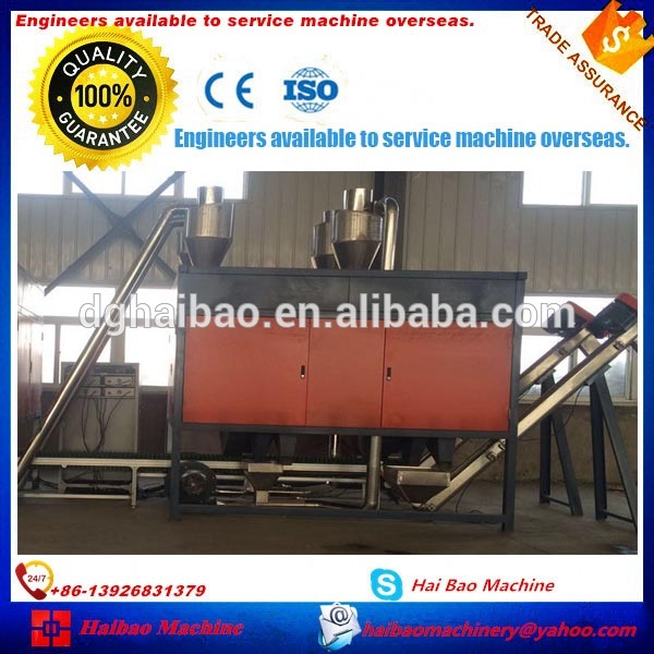 IE Certification ABS/PS/PP/PA waste aluminium plastic electrostatic separator sorting machine