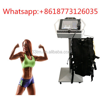 Wireless ems muscle stimulator / EMS training suit / EMS fitness machines