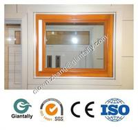 Aluminum Doors and windows with wood grain surface treatment