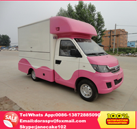 New design karry mini truck 4 x 2 food cart mobile