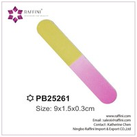 Cheapmanicure and pedicure set EVA nail file