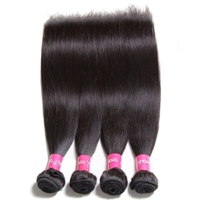 Wholesale Alibaba Double Drawn 100% Silk Straight Wave Unprocessed Brazilian Virgin Human Hair Extension
