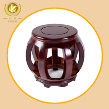 Chinese wooden round stool suitable for palying piano, piano stool