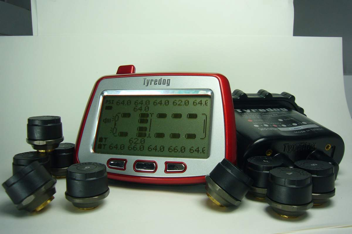 NEW TRUCK TPMS 200 PSI + Tire Pressure Monitoring System