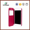 Newest custom waterproof cell phone case leather flip cover phone case for iphone 6