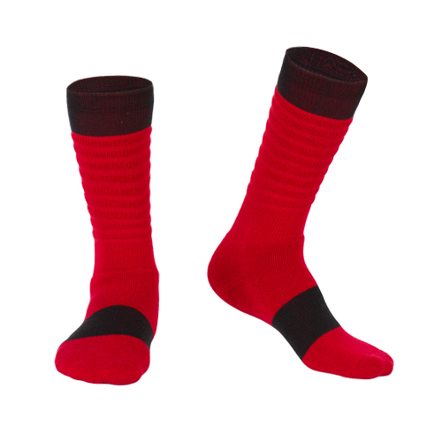 Unique design basketball elite socks men's sports socks