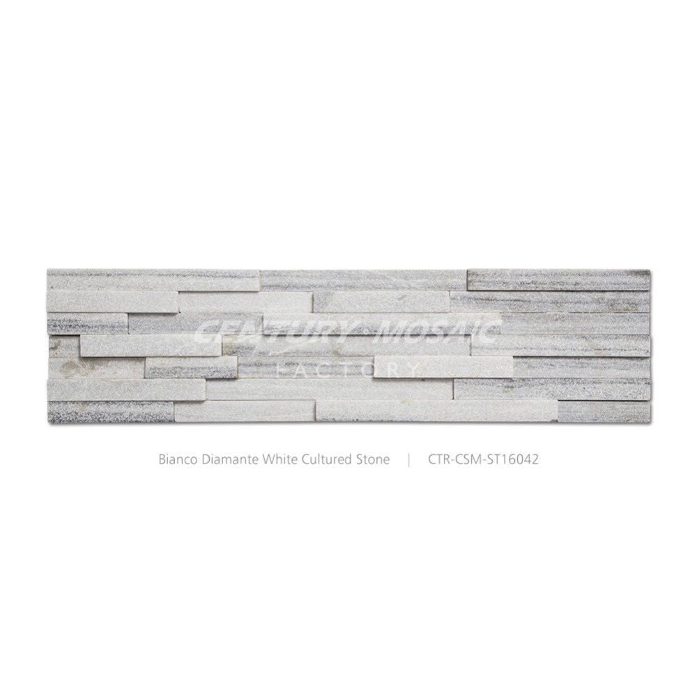 low price exterior decor gray marble culture stone