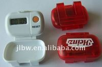 step counter pedometer with cover flip pedometer with customer's logo