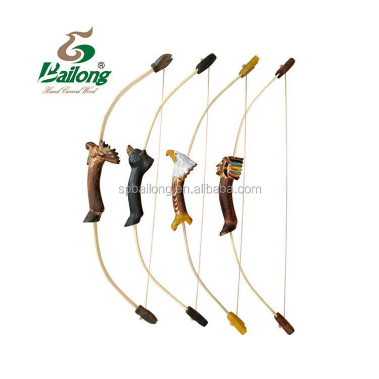 Wood outdoor crossbow shooting set toy bow and arrow archery for kids