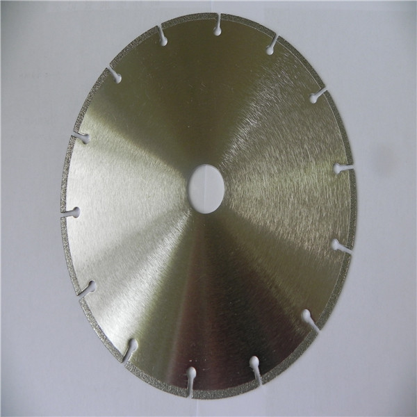 New Design electroplated gang saw blade for marble