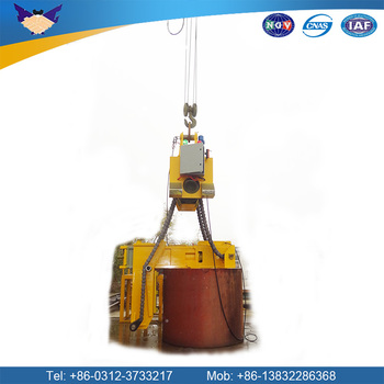 industrial hoist horizontal or vertical heavy material handling equipment lifting equipment apparatus clamp hoisting system