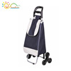 High Quality portable reusable shopping trolley bag/cart with two-wheels