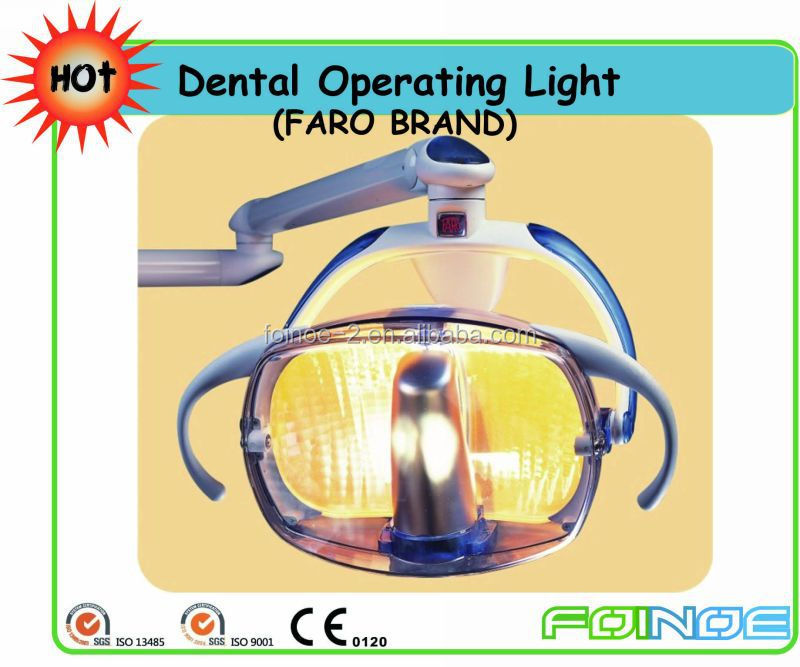 CE approved Made in Italy Faro Dental Operating Light