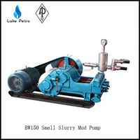 Small BW150 mud pump/ horizontal reciprocating triplex plunger pump for pil and water well