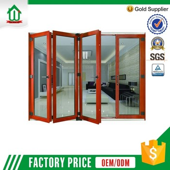 Newest Competitive Price Foshan Wanjia Custom-Made Aluminum Folding Door