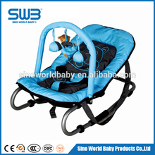 Baby rocking chair Steel frame, foldable baby rocker chair