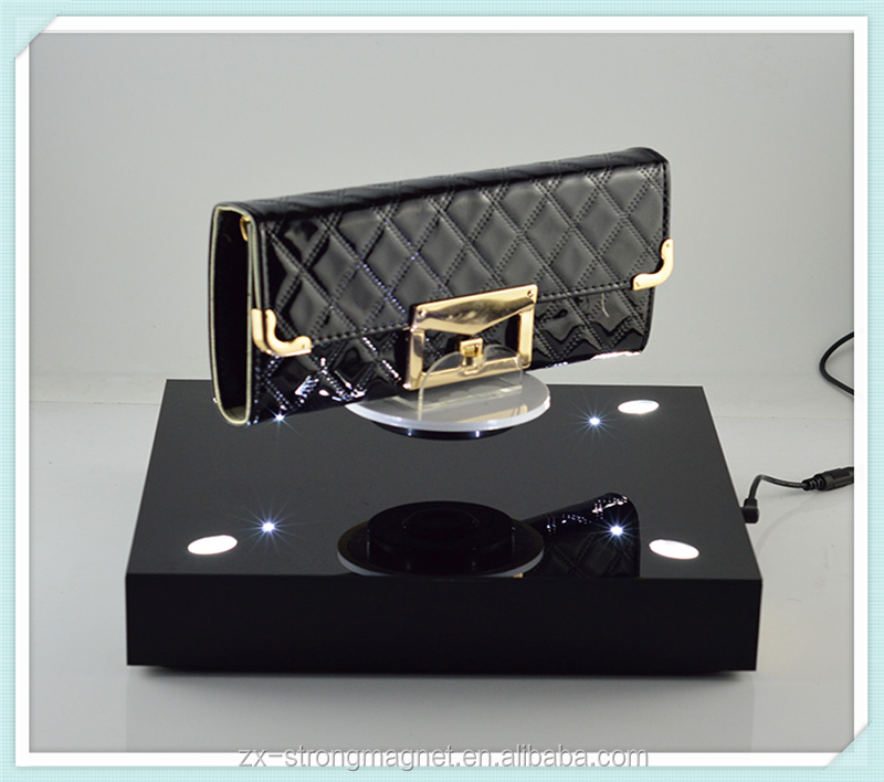 shoe/bags magnetic floating acrylic display stand