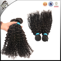Shedding Free wavy wholesale virgin 100% peruvian jerry curl hair weaves pictures